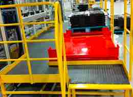 Wear resistant and anti-skid steel pattern mat